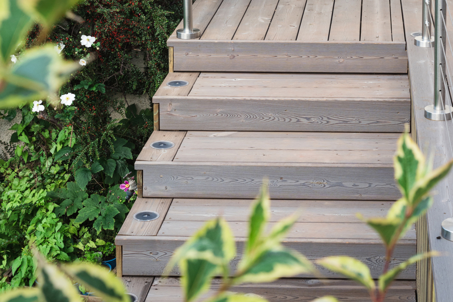 Hard Wearing & Waterproof IRO Timber Decking Project