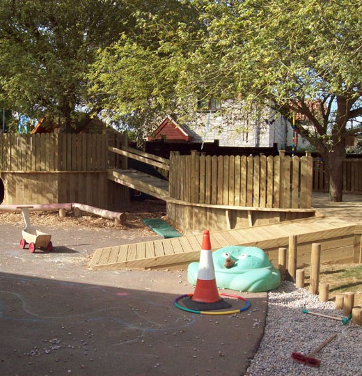 Wooden-Play-Area